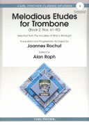 Melodious Etudes for Trombone 2 + CD