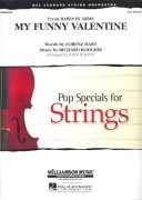MY FUNNY VALENTINE - Pop Specials For Strings / partitura + party