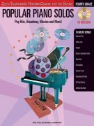 Popular Piano Solos 4 – Pop Hits, Broadway, Movies and More + CD
