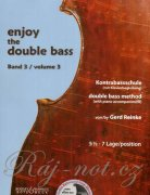 Enjoy the Double Bass 3 + CD - Gerd Reinke