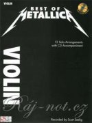 Best of metallica + audio online - housle