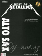 Best of metallica + CD - alt saxofon
