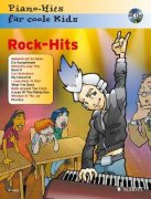 Rock-Hits + CD - Piano-Hits für coole Kids