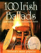 100 Irish Ballads Volume 1 - melodie, anglické texty a akordy