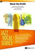 Mack the Knife - Vocal Solo with Jazz Ensemble - score & parts
