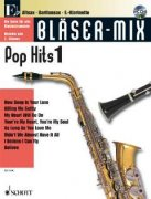 Bläser-Mix - Pop Hits 1 + CD Es instruments