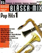 Bläser-Mix - Pop Hits 1 + CD Bb instruments