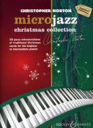 Microjazz christmas collection jazzové koledy pro klavír od Norton Christopher