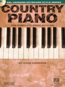 COUNTRY PIANO + Audio Online / Hal Leonard Keyboard Style Series