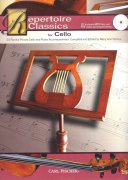 REPERTOIRE CLASSICS for CELLO + CD / violoncello + piano