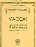 Practical Method Of Italian Singing: For Soprano Or Tenor (Book/Online Audio)