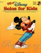 More Disney Solos For Kids - PVG + CD