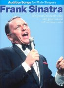AUDITION SONGS - FRANK SINATRA FOR MALE SINGERS + CD