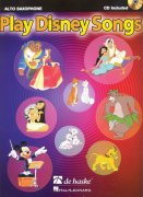 Play Disney Songs + CD / altový saxofon
