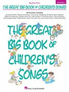 The Great Big Book Of Children's Songs - klavír