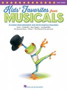 Kids' Favorites From Musicals - Piano/Keyboard PVG