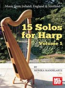 15 Solos For Harp: Volume 1
