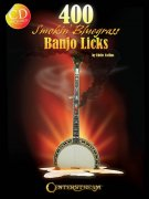 400 Smokin Bluegrass Banjo Licks + CD - učebnice pro Banjo