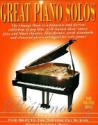 Great Piano Solos: The Orange Book - klavír