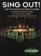Sing Out! 5 Pop Songs For Todays Choirs - Book 1 + 2 CD