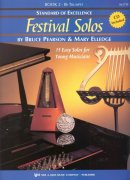 Standard of Excellence: Festival Solos 2 + CD / trumpeta