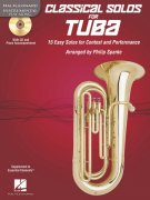 CLASSICAL SOLOS for TUBA +  Audio Online / tuba + klavír