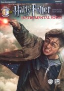 HARRY POTTER: Complete Film Series -  Instrumental Solos + CD /  klavírní doprovod