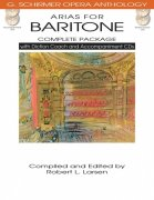 ARIAS FOR BARITONE – COMPLETE PACKAGE + 4x CD /  zpěv + klavír