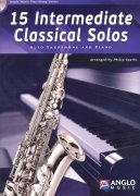 15 Intermediate Classical Solos + CD / altový saxofon + klavír