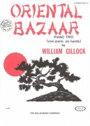 ORIENTAL BAZAAR by William Gillock / 1 piano 6 hands