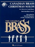 The Canadian Brass - Christmas Solos + CD / horn in F + piano