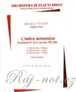 L'Estro armonico, concerto No 6 in La min. RV 356 + CD
