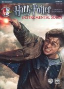 HARRY POTTER: Complete Film Series -  Instrumental Solos + CD / alt saxofon