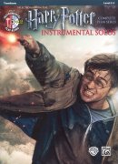 HARRY POTTER: Complete Film Series -  Instrumental Solos + CD / trombon (pozoun)