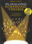 BRAVO! - Playalong SYMPHONIC Themes + CD / housle