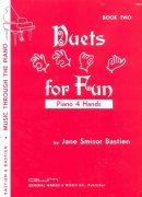 DUETS FOR FUN 2 by Jane Smisor Bastien / 1 klavír 4 ruce