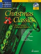 Christmas Classics + CD - 16 Most Popular Christmas Melodies - Tenor-Saxophon