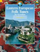 Eastern European Folk Tunes + CD - 33 Traditional Pieces for Accordion