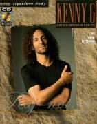 Saxophone Signature Licks: Kenny G Book with Audio-Online