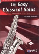 15 Easy Classical Solos + CD / altový saxofon + klavír
