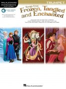Songs From Frozen, Tangled And Enchanted: Trumpet (Book/Online Audio)