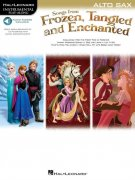 Songs From Frozen, Tangled And Enchanted: Alto Saxophone (Book/Online Audio)