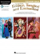 Songs From Frozen, Tangled And Enchanted: Tenor Saxophone (Book/Online Audio)