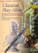 Classical Play-Along + CD - 12 favourite works from the Classical - příčná flétna