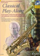 Classical Play-Along + CD - 12 favourite works from the Classical - saxofon alt