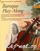 Baroque Play-Along + CD - housle