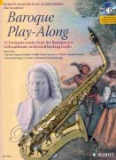 Baroque Play-Along + CD - saxofon alt