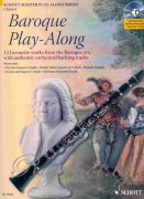 Baroque Play-Along + CD - klarinet