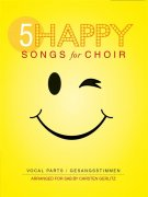 5 Happy Songs For Choir - SAB (Score/5 Parts)
