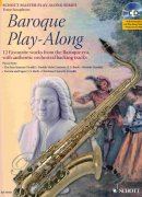 Baroque Play-Along + CD - saxofon tenor